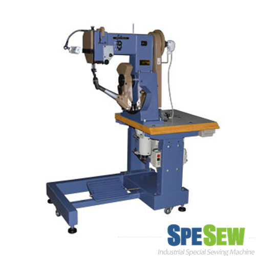 HEAVY DUTY SHOES SIDEWALL SOLE STITCHING MACHINE