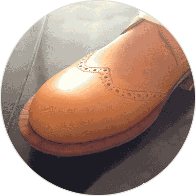 sewing shoes
