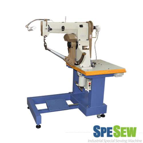 Side Seam Edge Stitching Machine, especially leather bags and boots