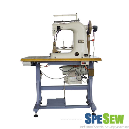 THREE NEEDLES SHOES UPPER STITCHING MACHINE, INDUSTRIAL SEWING MACHINE
