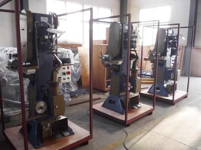 Three Sets Master Insole Stitching Machine Ship to Jakarta of Indonesia